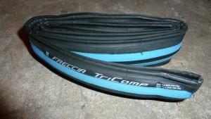buitenband kopen racefiets Vredestein Freccia - Vouwband - 23-622 / 700 x 23 - Blauw